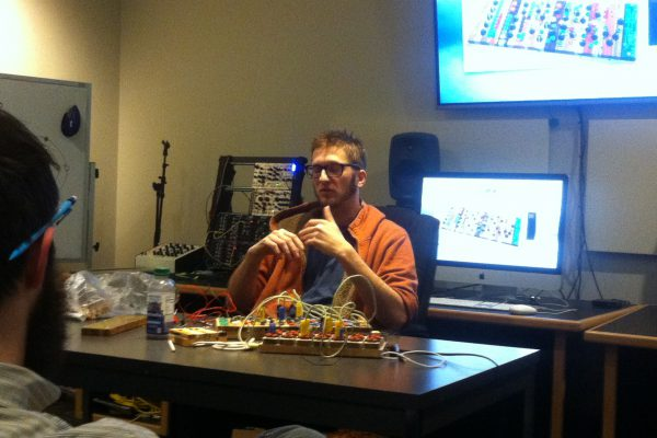 Synth builder and performer Peter Blasser presents his work in ESP Forum (Spring, 2015)