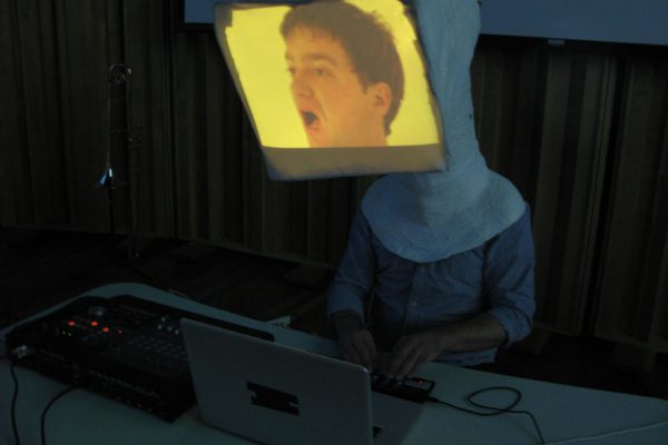 Daniel Eaton's Video Head as seen in the Music & Image class, Spring 2010