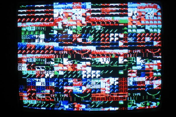 NES Circuit Bent Audio Visualizer - Phil Stearns 2006