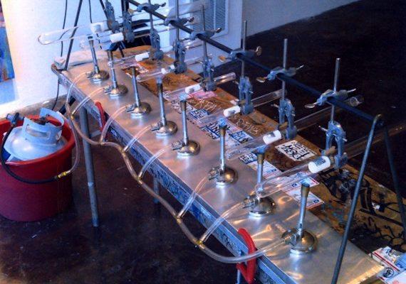 Todd Lerew's Quartz Cantibile instrument in 2013